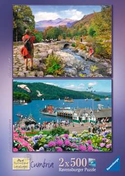 Picturesque Cumbria, 2x500pc Puzzles;Adult Puzzles - image 4 - Ravensburger