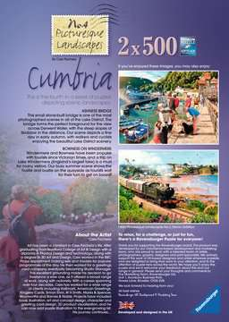 Picturesque Cumbria, 2x500pc Puzzles;Adult Puzzles - image 5 - Ravensburger
