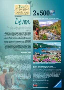 Picturesque Devon, 2x500pc Puzzles;Adult Puzzles - image 4 - Ravensburger