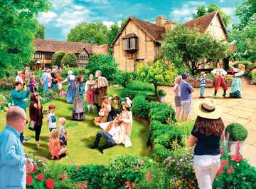 Picturesque Warwickshire, 2x500pc Puzzles;Adult Puzzles - image 2 - Ravensburger
