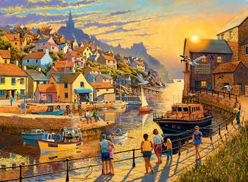 Coastal Retreats, 2x500pc Puzzles;Adult Puzzles - image 2 - Ravensburger