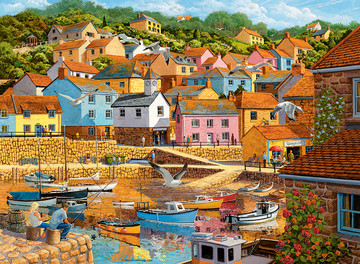 Coastal Retreats, 2x500pc Puzzles;Adult Puzzles - image 3 - Ravensburger