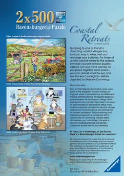 Coastal Retreats, 2x500pc Puzzles;Adult Puzzles - image 4 - Ravensburger
