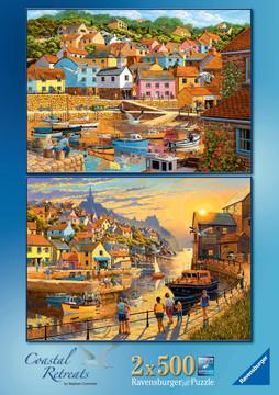 Coastal Retreats, 2x500pc Puzzles;Adult Puzzles - image 5 - Ravensburger