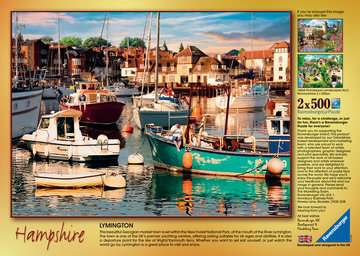 Picturesque Hampshire 2x500pc Puzzles;Adult Puzzles - image 4 - Ravensburger