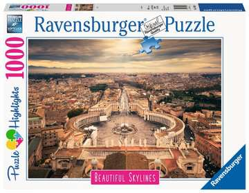 Beautiful Skylines - Rome, 1000pc Puzzles;Adult Puzzles - image 1 - Ravensburger