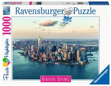 Puzzle 1000 p - New York (Puzzle Highlights) Puzzle;Puzzle adulte - Image 1 - Ravensburger