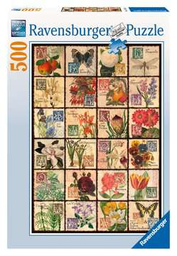 Vintage Flora Jigsaw Puzzles;Adult Puzzles - image 1 - Ravensburger