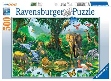Jungle Harmony / Harmonie de la jungle Puzzle;Puzzles adultes - Image 1 - Ravensburger