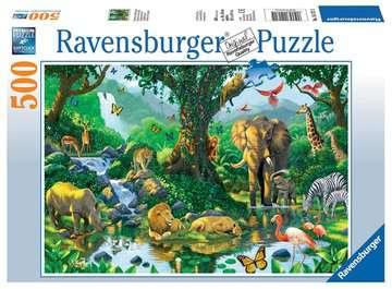 Harmonie im Dschungel Puzzle;Erwachsenenpuzzle - Bild 1 - Ravensburger