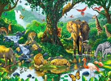Jungle Harmony / Harmonie de la jungle Puzzle;Puzzles adultes - Image 2 - Ravensburger