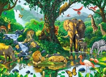 Harmonie im Dschungel Puzzle;Erwachsenenpuzzle - Bild 2 - Ravensburger