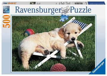 Puzzle 500 p - Golden Retriever Puzzle;Puzzle adulte - Image 1 - Ravensburger