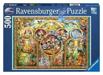 Disney familie / La famille Disney Puzzle;Puzzles adultes - Image 1 - Ravensburger