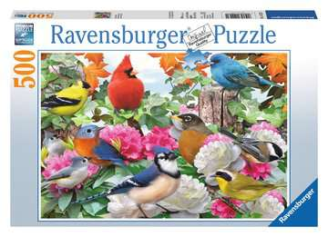Garden Birds Jigsaw Puzzles;Adult Puzzles - image 1 - Ravensburger