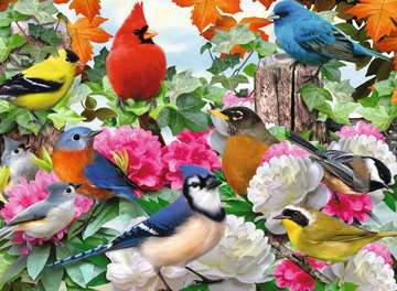Garden Birds Jigsaw Puzzles;Adult Puzzles - image 2 - Ravensburger