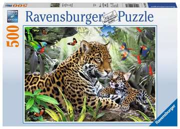 Jaguar Nachwuchs Puzzle;Erwachsenenpuzzle - Bild 1 - Ravensburger