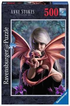 ANNE STOKES: DRAGON GIRL 500 EL Puzzle;Puzzle dla dzieci - Zdjęcie 1 - Ravensburger
