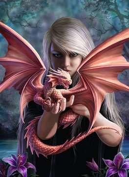ANNE STOKES: DRAGON GIRL 500 EL Puzzle;Puzzle dla dzieci - Zdjęcie 2 - Ravensburger