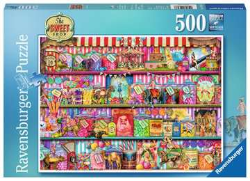 The Sweet Shop, 500pc Puzzles;Adult Puzzles - image 1 - Ravensburger