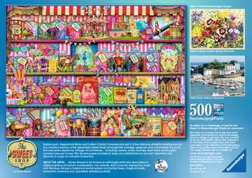 The Sweet Shop, 500pc Puzzles;Adult Puzzles - image 2 - Ravensburger