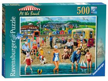 At the Beach 500pc Puzzles;Adult Puzzles - image 1 - Ravensburger