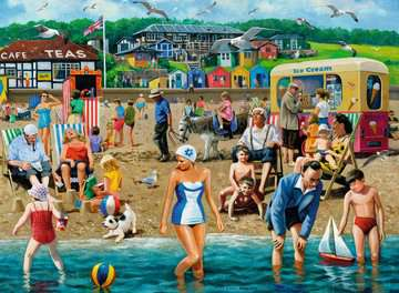 At the Beach 500pc Puzzles;Adult Puzzles - image 3 - Ravensburger