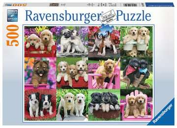 Puppy Pals Jigsaw Puzzles;Adult Puzzles - image 1 - Ravensburger