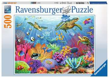 Tropical Waters Jigsaw Puzzles;Adult Puzzles - image 1 - Ravensburger