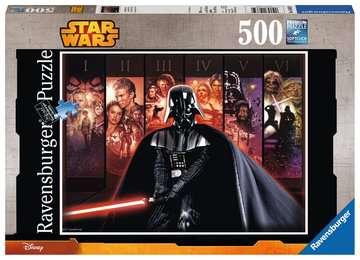 STAR WARS SAGA 500EL Puzzle;Puzzle dla dzieci - Zdjęcie 1 - Ravensburger