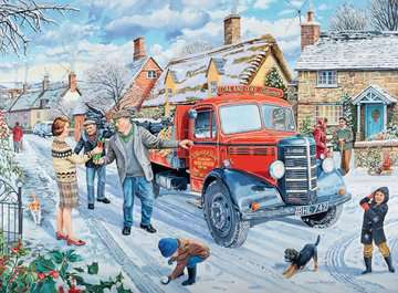 Happy Days at Work - The Coalman, 500pc Puzzles;Adult Puzzles - image 2 - Ravensburger