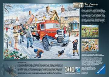 Happy Days at Work - The Coalman, 500pc Puzzles;Adult Puzzles - image 3 - Ravensburger