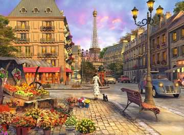 Spaziergang durch Paris Puzzle;Erwachsenenpuzzle - Bild 2 - Ravensburger