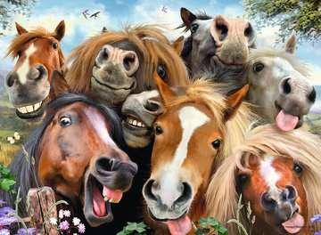 S koňmi 500 dílků 2D Puzzle;Puzzle pro dospělé - obrázek 3 - Ravensburger