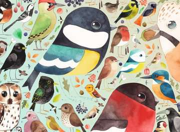 Matt Sewell´s, Our British Birds, 500pc Puzzles;Adult Puzzles - image 2 - Ravensburger