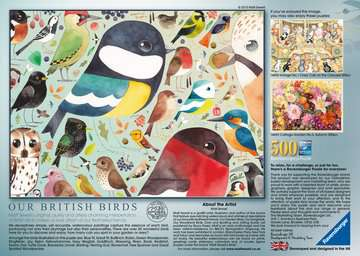 Matt Sewell´s, Our British Birds, 500pc Puzzles;Adult Puzzles - image 3 - Ravensburger