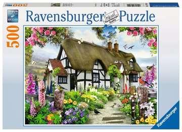 Verträumtes Cottage Puzzle;Erwachsenenpuzzle - Bild 1 - Ravensburger