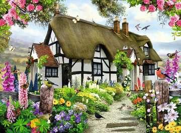 Verträumtes Cottage Puzzle;Erwachsenenpuzzle - Bild 2 - Ravensburger