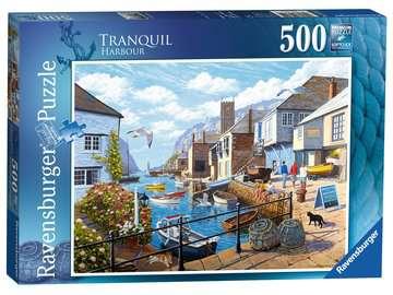 Tranquil Harbour, 500pc Puzzles;Adult Puzzles - image 1 - Ravensburger