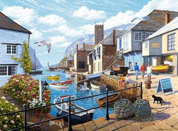 Tranquil Harbour, 500pc Puzzles;Adult Puzzles - image 2 - Ravensburger