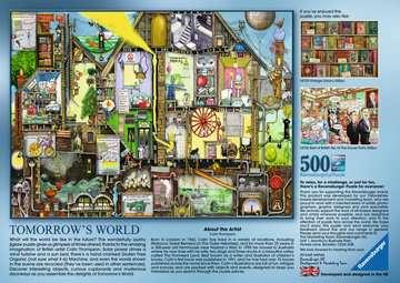 COLIN THOMPSON - TOMORROW S WORLD 500EL Puzzle;Puzzle dla dzieci - Zdjęcie 3 - Ravensburger