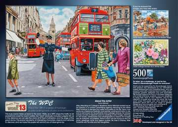 Happy Days at Work, The WPC, 500pc Puzzles;Adult Puzzles - image 2 - Ravensburger