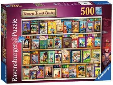 Vintage Travel, 500pc Puzzles;Adult Puzzles - image 1 - Ravensburger