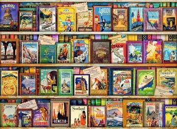 Vintage Travel, 500pc Puzzles;Adult Puzzles - image 2 - Ravensburger