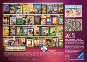 Vintage Travel, 500pc Puzzles;Adult Puzzles - image 3 - Ravensburger