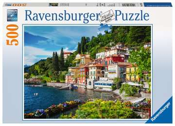 Lake Como, Italy, 500pc Puzzles;Adult Puzzles - image 1 - Ravensburger