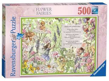 Flower Fairies, 500pc Puzzles;Adult Puzzles - image 1 - Ravensburger
