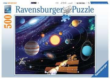 Planetární soustava 500 dílků 2D Puzzle;Puzzle pro dospělé - obrázek 1 - Ravensburger