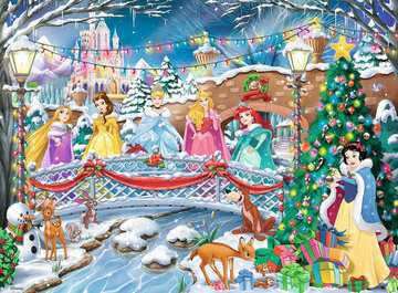 Disney Princess Christmas Celebrations, 500pc Puzzles;Adult Puzzles - image 2 - Ravensburger
