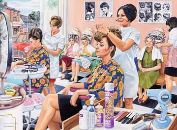 Happy Days at Work - The Hairdresser, 500pc Puzzles;Adult Puzzles - image 2 - Ravensburger